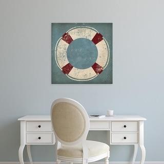 Easy Art Prints Ryan Fowler's 'Nautical Buoy Blue' Premium Canvas Art