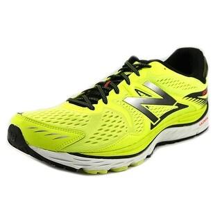 New Balance M880 Men 2E Round Toe Synthetic Yellow Running Shoe
