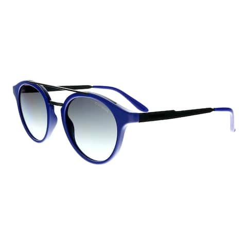 930b87a9691a7 Carrera 123 S 0W24 JJ Blue Blck Round Sunglasses - 49-21-145