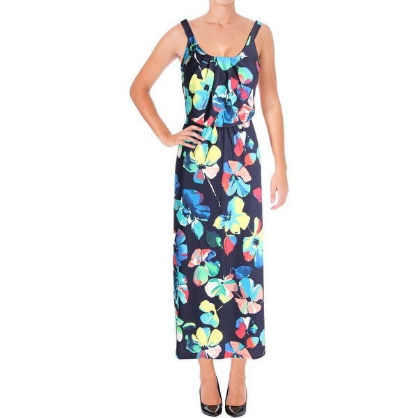 69a697e5cd1de Shop Signature By Robbie Bee Womens Petites Maxi Dress Maxi Floral Print -  Free Shipping On Orders Over $45 - Overstock - 22918791
