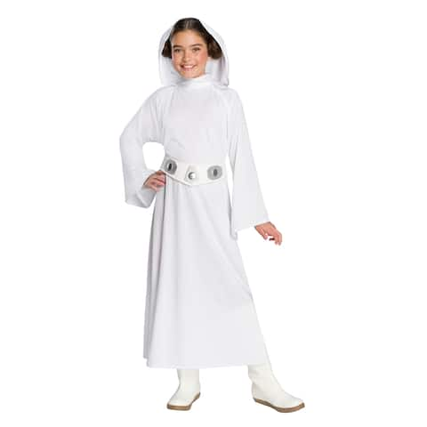 Girls Star Wars Deluxe Princess Leia Costume
