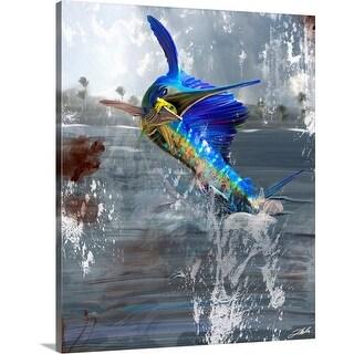 """""""Jumping Sail"""" Canvas Wall Art"""