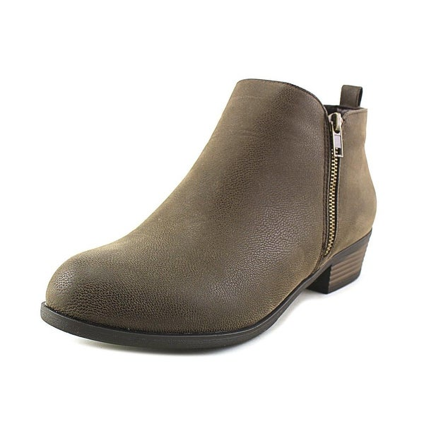 Pierre Dumas Zoey-1 Women Round Toe Synthetic Brown Ankle Boot
