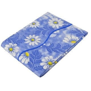 "Home Picnic Daisy Pattern Oil-proof Tablecloth Table Cloth Cover Blue 60"" x 60"""