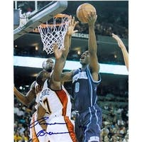 Autograph Warehouse  Ronnie Brewer Autographed 8 x 10 Photo Utah Jazz