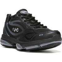 Ryka Women's Devotion XT Sneaker Black Mesh