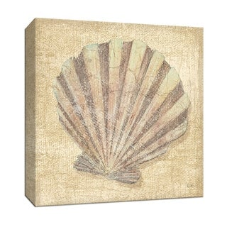 """PTM Images 9-152632  PTM Canvas Collection 12"""" x 12"""" - """"Tropical Island Shell II"""" Giclee Shells Art Print on Canvas"""