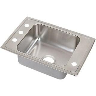 "Elkay DRKAD311940 21"" Single Basin Drop In Stainless Steel Utility Sink"
