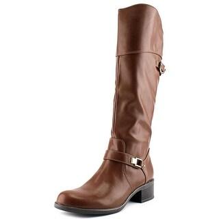 Alfani Fidoe Women Synthetic Brown Knee High Boot