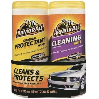Armor All 18779 Original Protectant & Cleaning Wipe