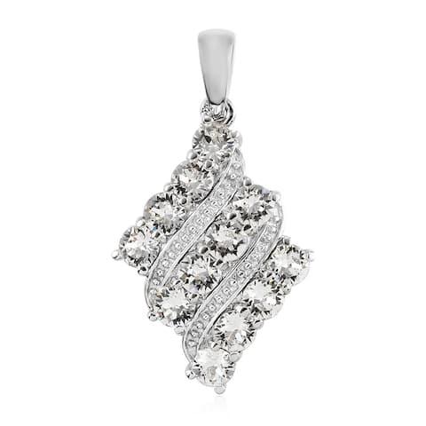 Shop LC Platinum Made with Swarovski Crystal Pendant