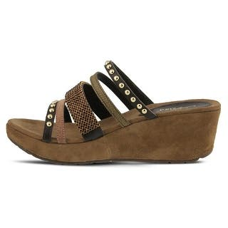7abd67267af0 Buy Brown Azura Women s Sandals Online at Overstock