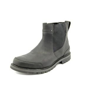 Timberland Chestnut Ridge Chelsea WP Men Round Toe Leather Black Ankle Boot