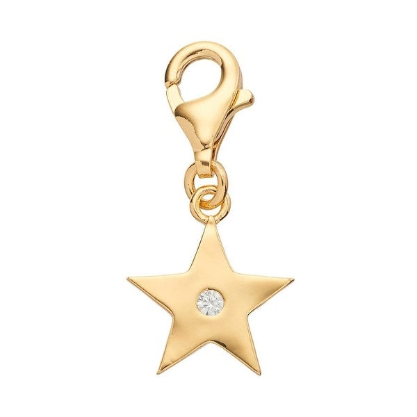 Julieta Jewelry Star CZ Clip-On Charm