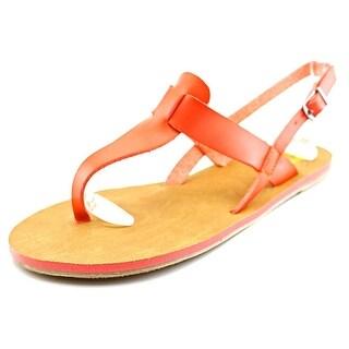 Cape Robbin Alma-FB-9 Women Open-Toe Synthetic Slingback Heel