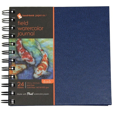 "Global Art - Field Watercolor Journals - 7"" x 10"" - 36 Shts./Pad"