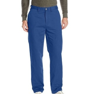 Nautica Mens Deck Pants Estate Blue 30x32