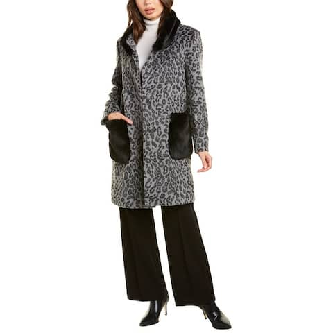 Cinzia Rocca Icons Wool-Blend Coat