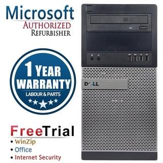 Refurbished Dell OptiPlex 7010 Tower Intel Core I3 3220 3.3G 16G DDR3 2TB DVDRW Win 7 Pro 64 Bits 1 Year Warranty - Black