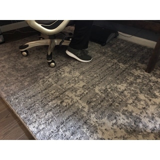 Porch & Den Seigel Granite and Mist Grey Area Rug