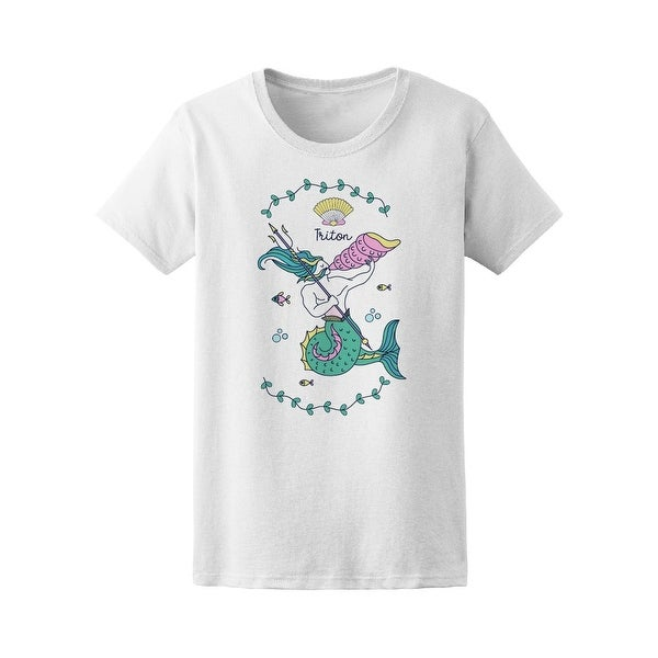 19d3a7604 Shop Sea King Triton Tee Women's -Image by Shutterstock - Free Shipping On  Orders Over $45 - Overstock - 21246680