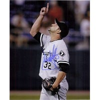Signed Hermanson Dustin Chicago White Sox 8x10 autographed