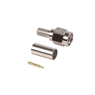 TerraWave Solutions SMA Plug (M) Connector For 195 Cable