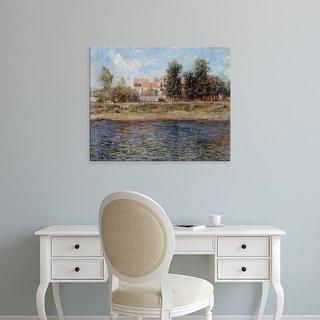 Easy Art Prints Claude Monet's 'The Seine' Premium Canvas Art