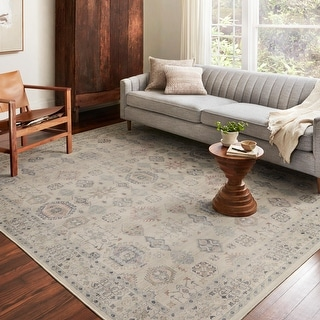 Link to Alexander Home Venetian Printed Gem Distressed Rug Similar Items in Bath