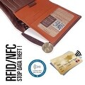 Ikepod Slim Carry Wallet (Java of 7 Colour) [ Italy Made // Top Leather] [RFID Blocking and Slim Stitching !] - Thumbnail 2