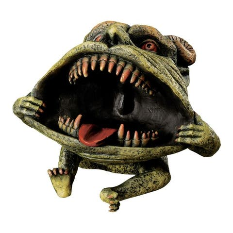 Design Toscano Halloween Desktop Gothic Goblins: Thaddeus the Troll