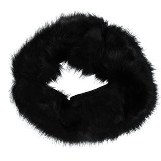 CTM® Women's Easton Faux Fur Collar with Hook Closure - One size