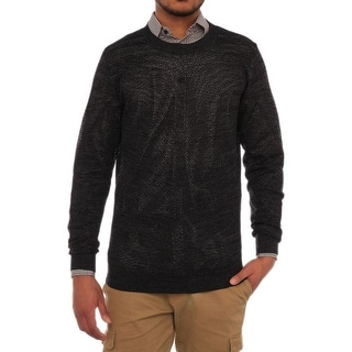 Anthony Morato Long Sleeve Crew Neck Sweater Men Regular Sweater Top