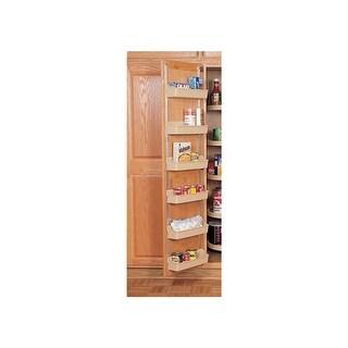 7 7//8  Wide Polymer Door Storage Trays Almond