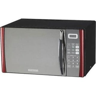 Midea Kitchen Appliance B&D .9Cf Microwave Red