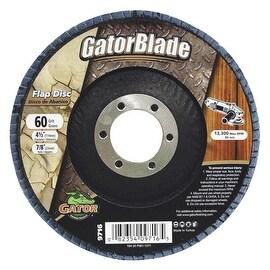 Gator Blade 4-1/2X7/8 60Gr Flap Disc