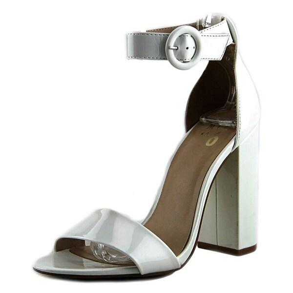 Shop Mix No 6 Avery Women Round Toe Leather White Heels - Free ... 4c89144e86ba