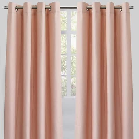 "Rodeo Home Grommet Top Ilan Room Darkening Curtains (Set of 2) - 54"" x 96"" - 54"" x 96"""