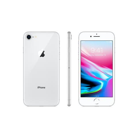 iPhone 8 Silver GSM Unlocked Certified Refurbished Phone