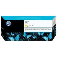 HP 91 775-ml Yellow DesignJet Pigment Ink Cartridge (C9469A) (Single Pack)