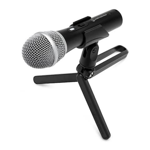 Audio-Technica ATR2100X-USB Cardioid Dynamic USB/XLR Microphone