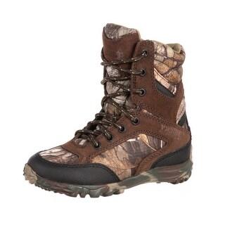 "Rocky Outdoor Boot Boy 6"" Big Silenthunter Waterproof Realtree RKS0199"