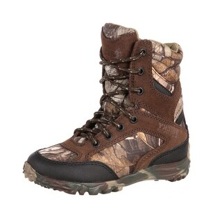 "Rocky Outdoor Boot Boy 6"" Big Silenthunter Waterproof Realtree"