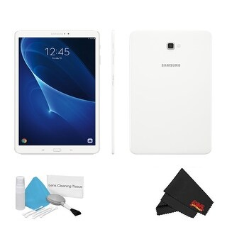 "Samsung 10.1"" Galaxy Tab A T580 16GB Tablet (Wi-Fi Only, White) Kit"