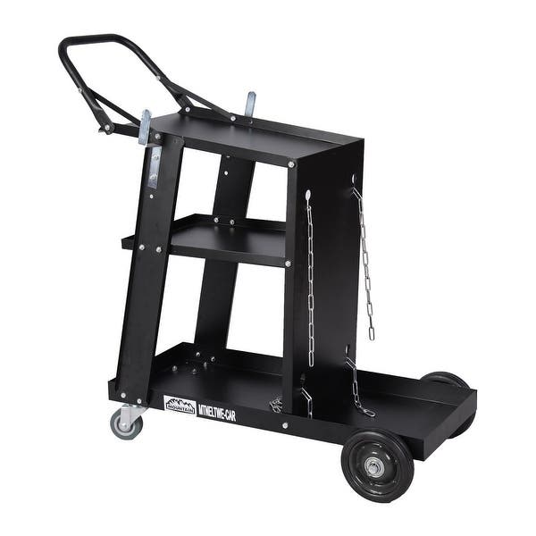 Welder Welding Cart Plasma Cutter MIG TIG ARC Universal Storage for Tanks New