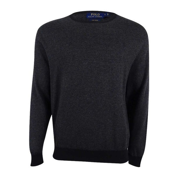 Polo Ralph Lauren Men's Pima Crew Neck Sweater