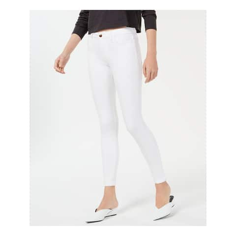 JOE'S Womens White Skinny Jeans Size 25 Waist