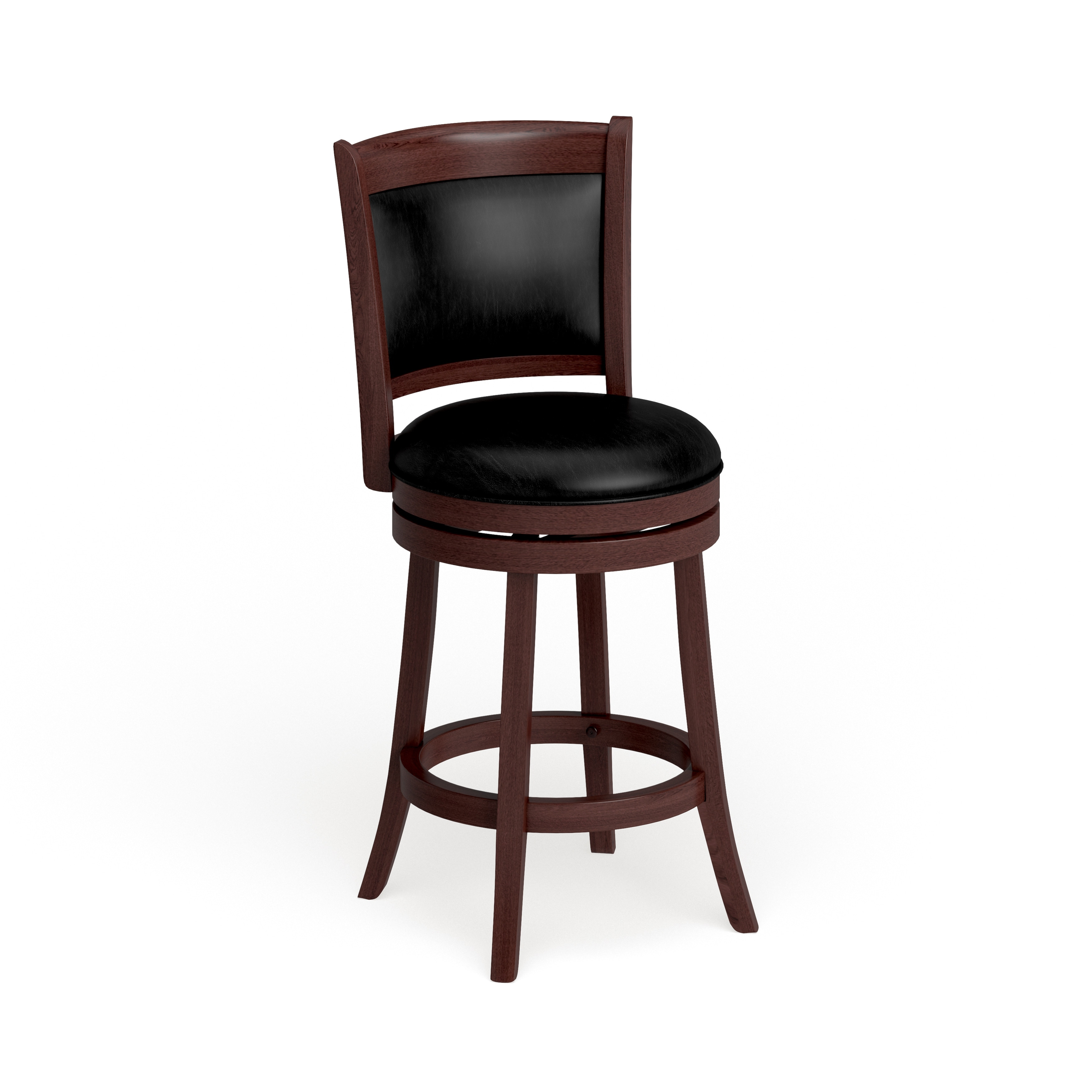 Verona Swivel High Back Counter Height Stool By Inspire Q Classic On Sale Overstock 4101670