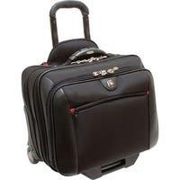 """""""SwissGear WA-7966-02F00 Swissgear Patomac Rolling Case. Fits up to 15.4in Laptop. Black - Polyester, Vinyl"""""""