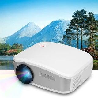 Portable Mini Home Theater Multimedia HDMI USB VGA AV ATV LED Projector 1200LM